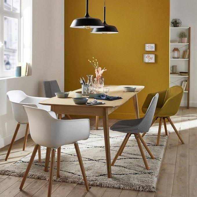 Обеденное кресло Asting серого цвета