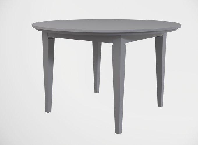 Стол обеденный раскладной круглый Manhattan цвета французский серый
