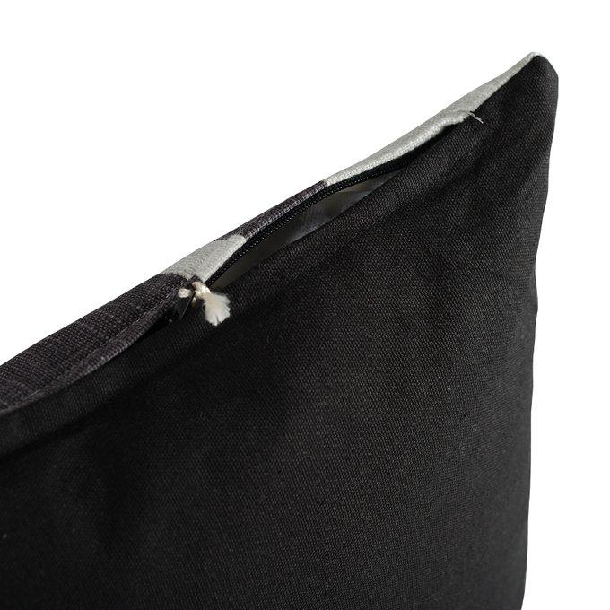 Подушка декоративная Ethnic серо-белого цвета