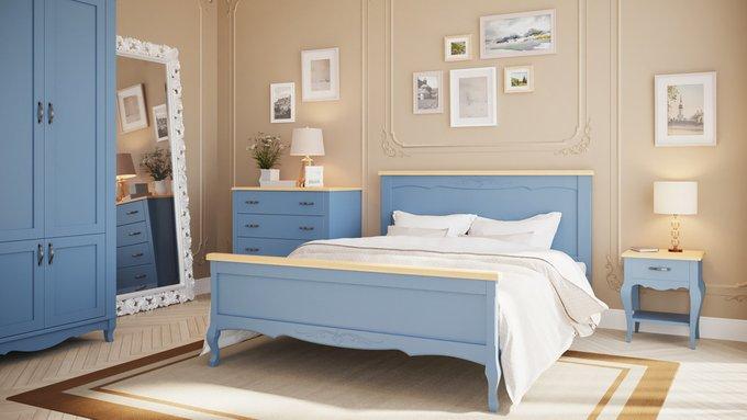 Кровать Кассис из массива бука 180х200