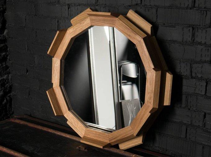 Настенное круглое зеркало Fly Massive Millworks Kupus 6