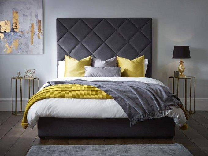 Кровать Brill с высоким изголовьем 160х200