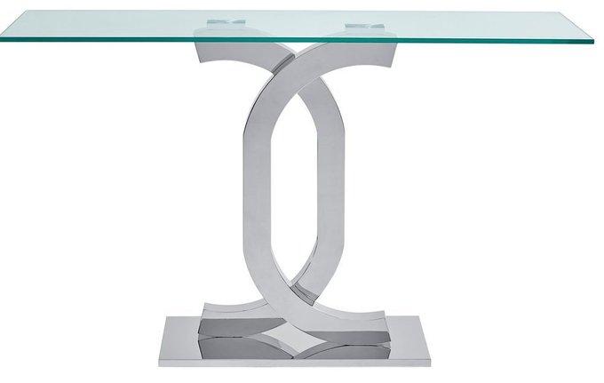 Консоль со стеклянной столешницей New