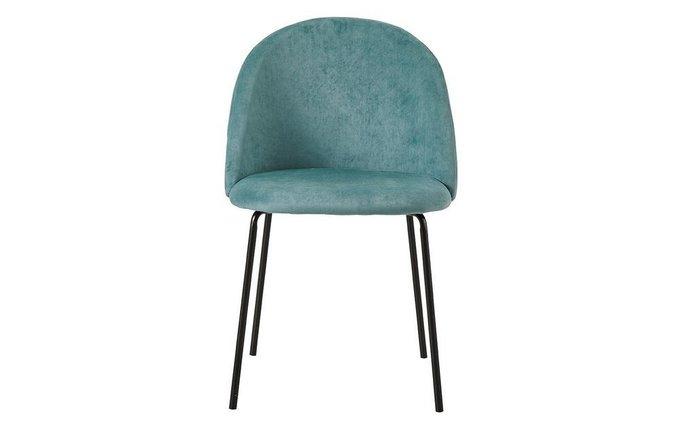 Обеденный стул Flory бирюзового цвета