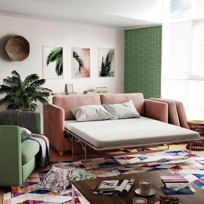 Диван-кровать Bari MTR  бежевого цвета