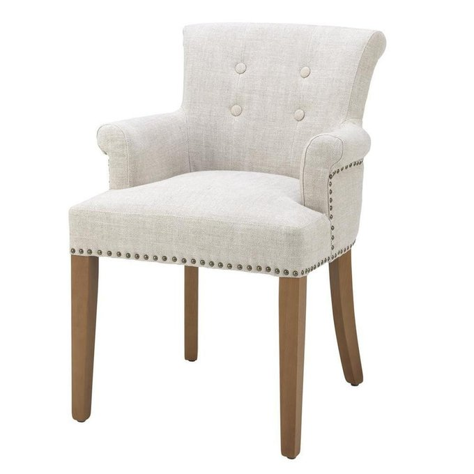 Обеденный стул Key Largo белого цвета