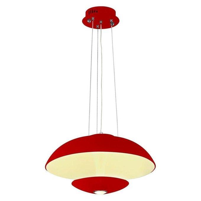 Подвесной светодиодный светильник Vista красного цвета