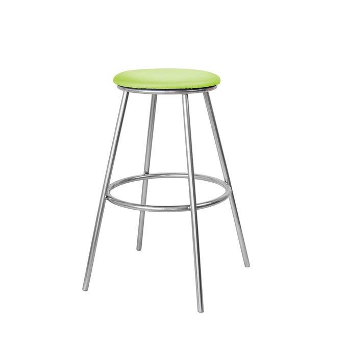 Барный стул Топ №5 салатового цвета