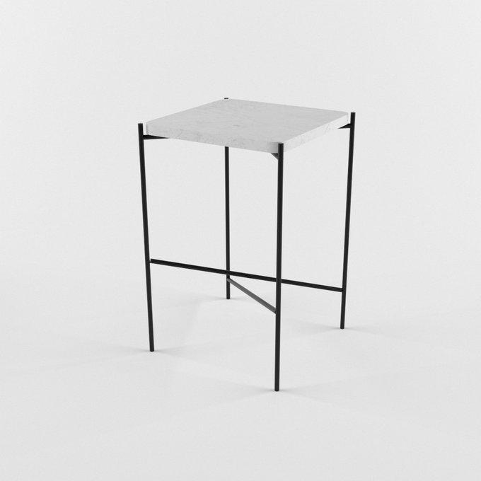 Журнальный столик с мраморной столешницей DIA