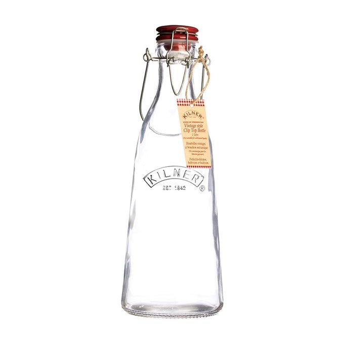 Бутылка Vintage из стекла