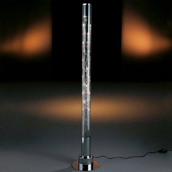 Торшер Schuller в виде съемной светящейся трубки