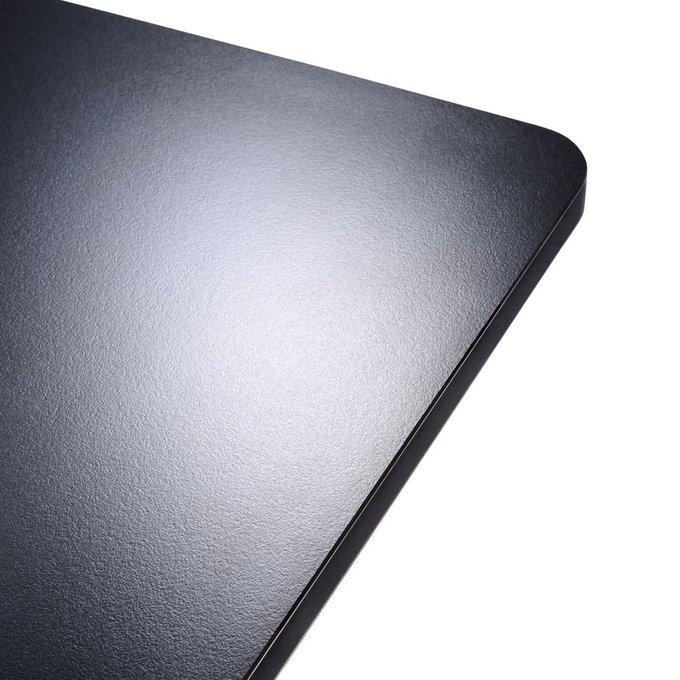 Стол офисный Spoon черного цвета