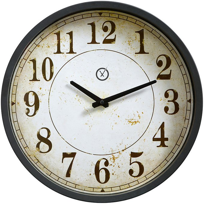 Настенные часы Glasgow из пластика