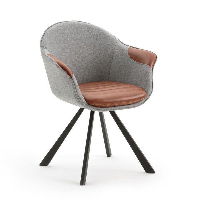 Кресло обеденное Biface серого цвета