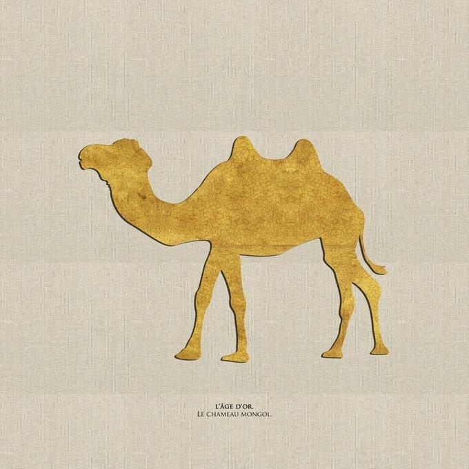 Картина (репродукция, постер): Монгольский верблюд