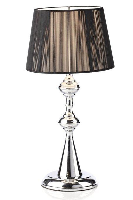 """Настольная лампа """"Bordeaux"""" с черным абажуром"""
