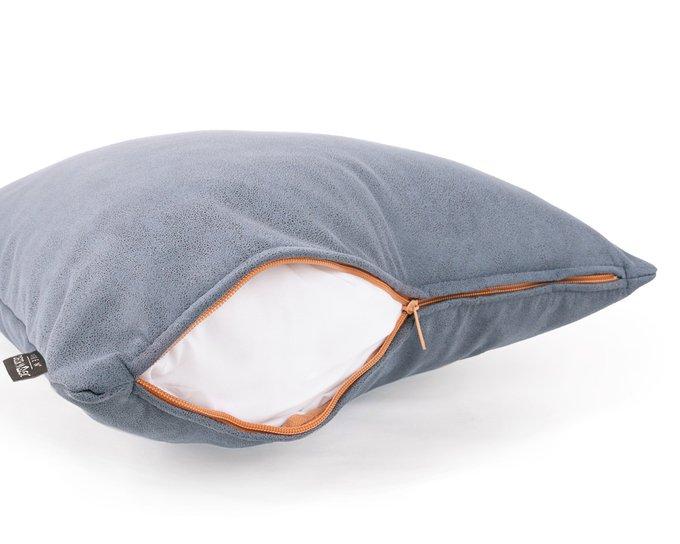 Декоративная подушка Fulton Slate серого цвета