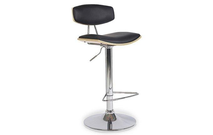 Барный стул с сидением из экокожи