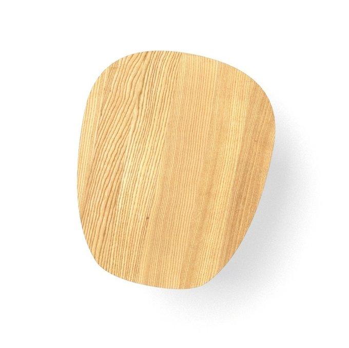 Журнальный стол River Round цвета дуб натуральный