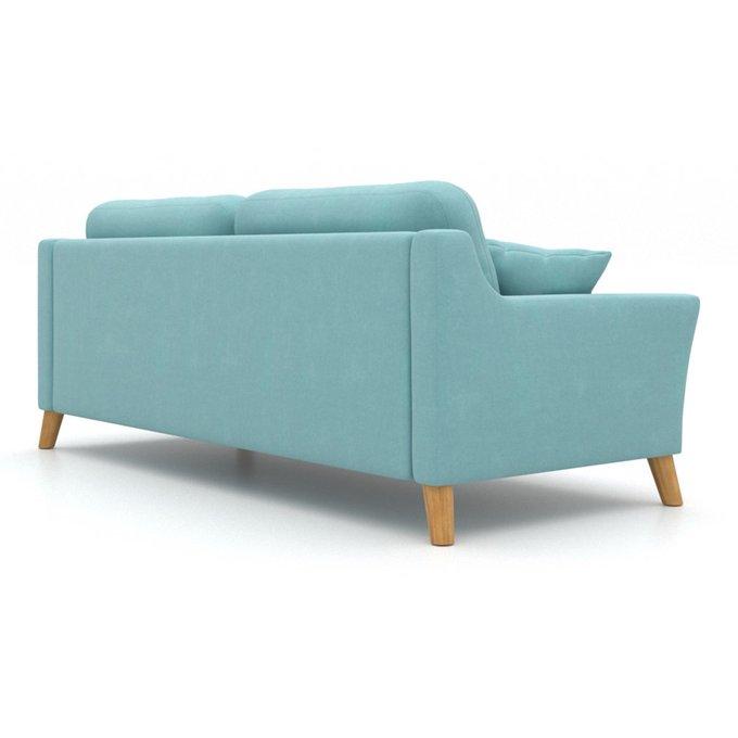 Диван-кровать Raf EKH трехместный голубой