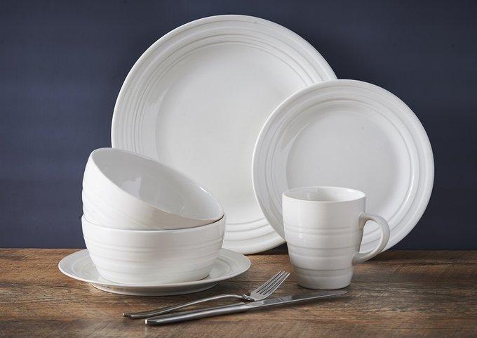 Тарелка обеденная Original Cane из керамики