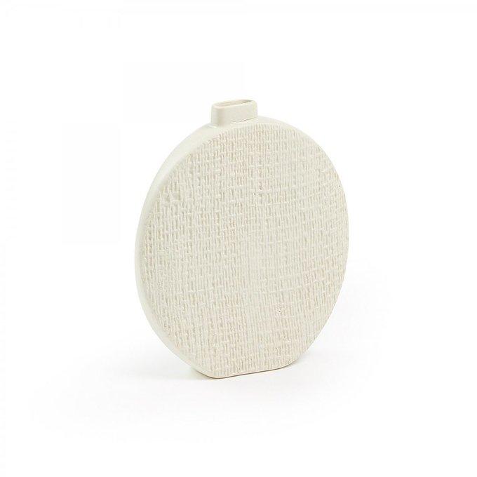 Керамическая ваза Cracco бежевого цвета