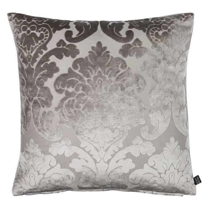 Декоративная подушка Chateau серого цвета