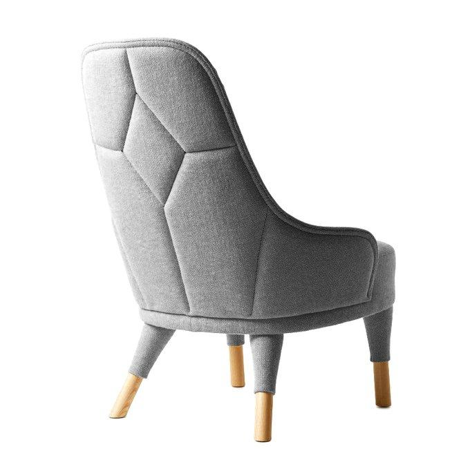Кресло Emma серого цвета