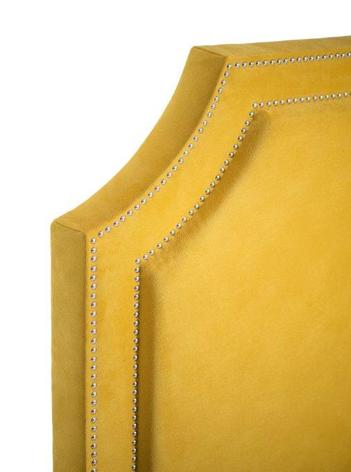 КРОВАТЬ С МЯГКИМ ИЗГОЛОВЬЕМ  декорированным гвоздями 160х200 см