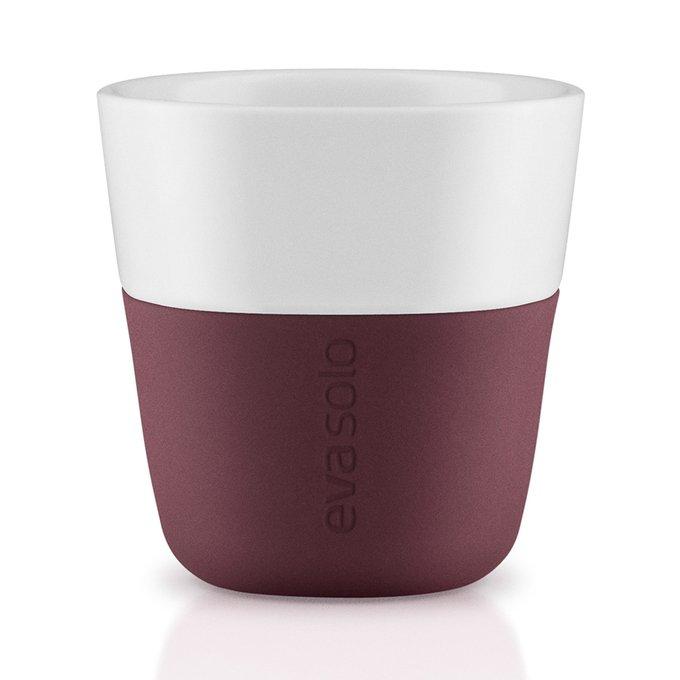 Чашки для эспрессо Eva Solo 2 шт. бургунди