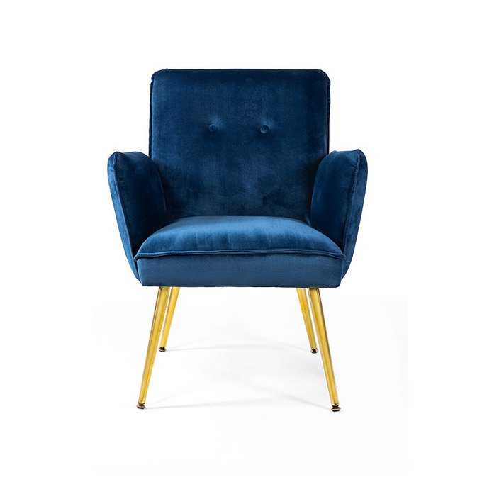 Кресло Nelda синего цвета