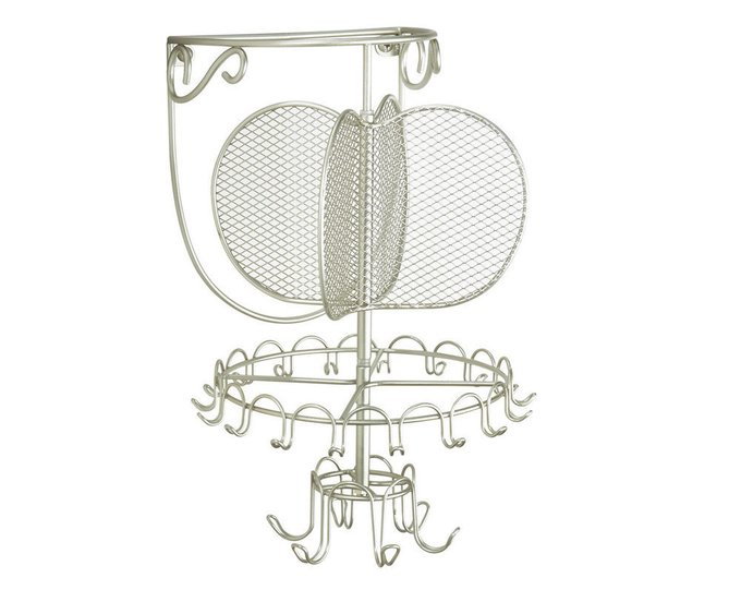 Вешалка для ювелирных украшений серого цвета