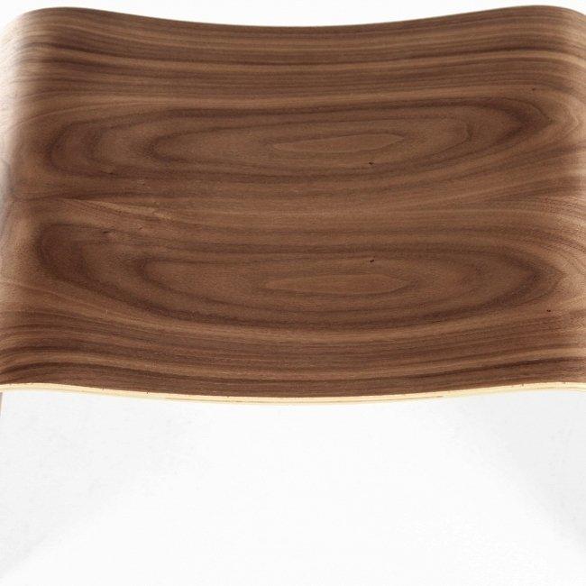 Табурет Curl из Американского ореха