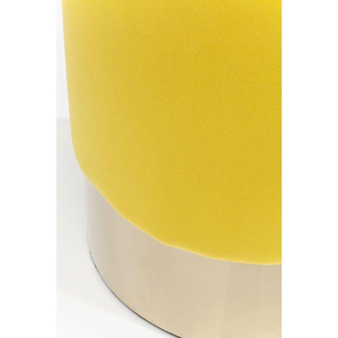 Пуф Cherry желтого цвета