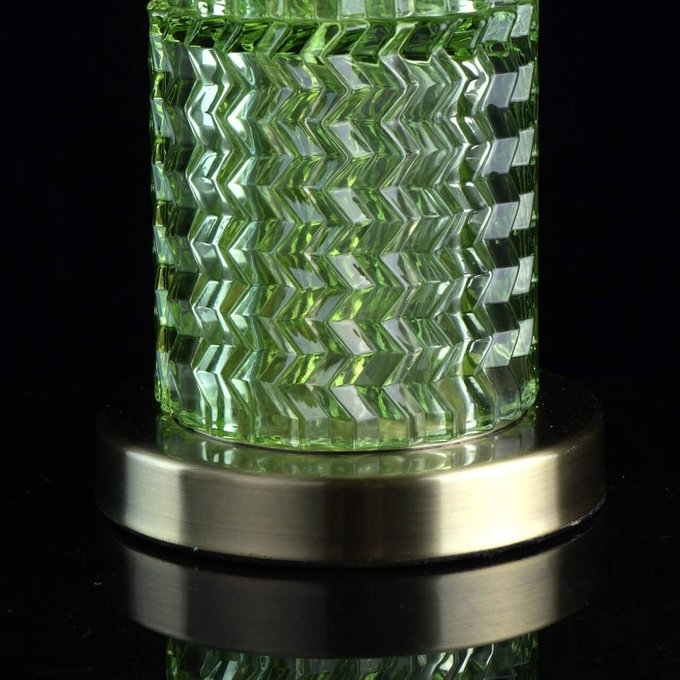 Настольная лампа Кьянти с белым абажуром