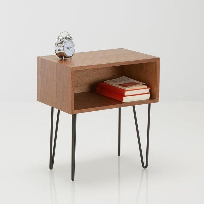 Прикроватный столик Watford коричневого цвета