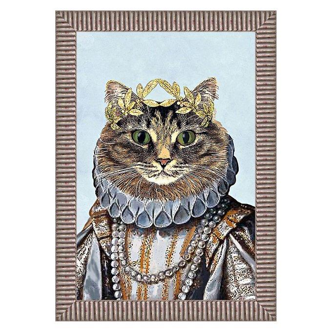 """Арт-постер """"Мисс Кошка"""""""