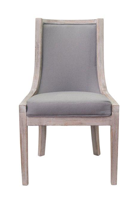 Кресло Bruno grey серого цвета
