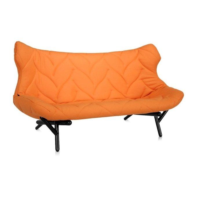 Диван Foliage оранжевого цвета