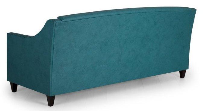 Диван прямой Рокфорд Richard дизайн 3 синего цвета