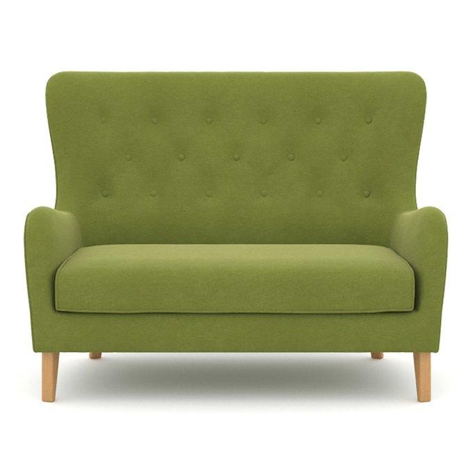 Диван двухместный Montreal зеленого цвета