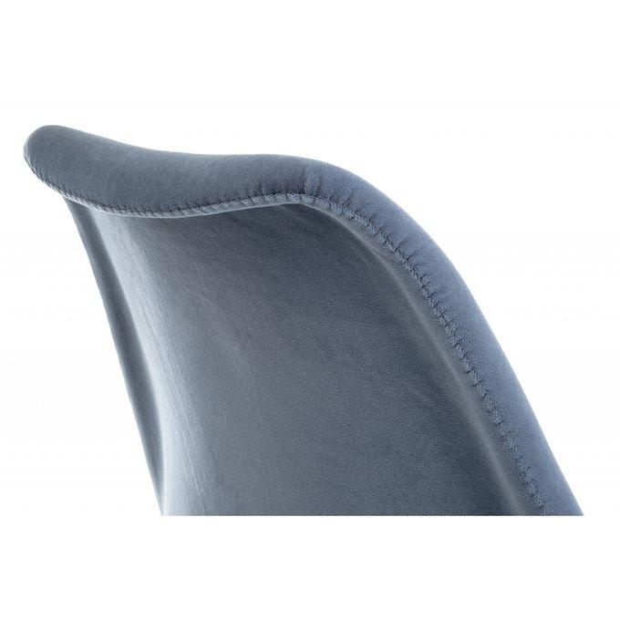 Обеденный стул Bonuss blue синего цвета