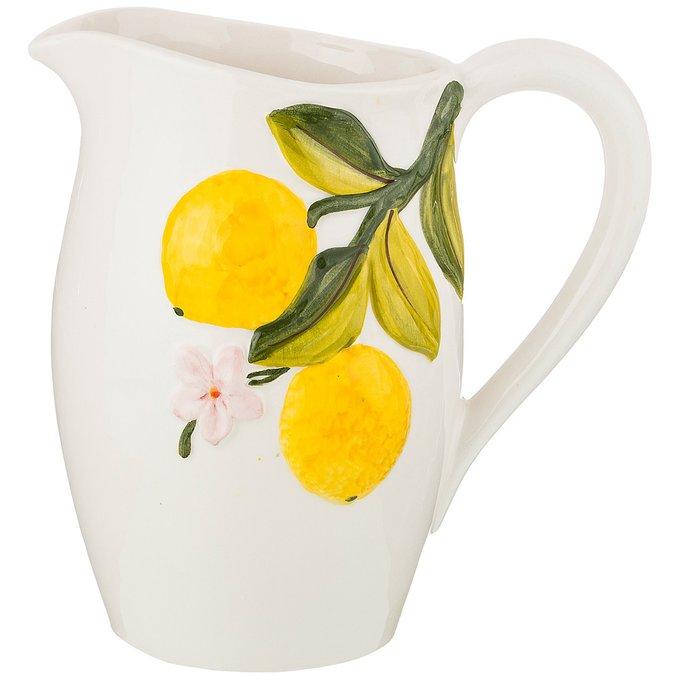 Кувшин Лимоны из керамики