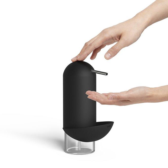Диспенсер для мыла Umbra penguin чёрный