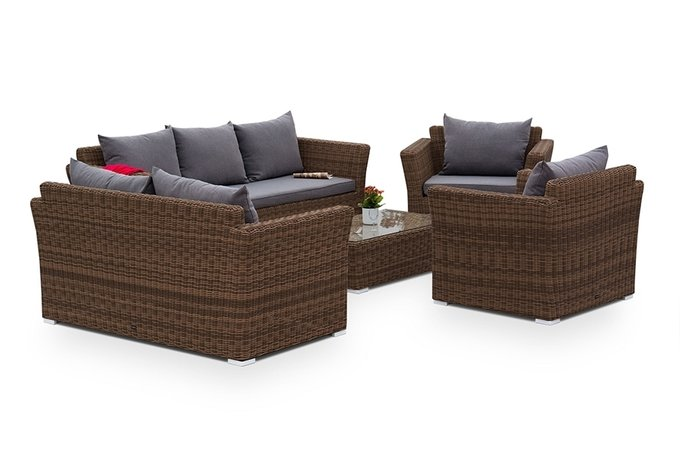 Кресло Капучино с подушками