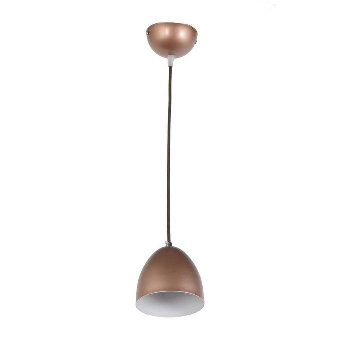 Подвесной светильник Nota коричневого цвета