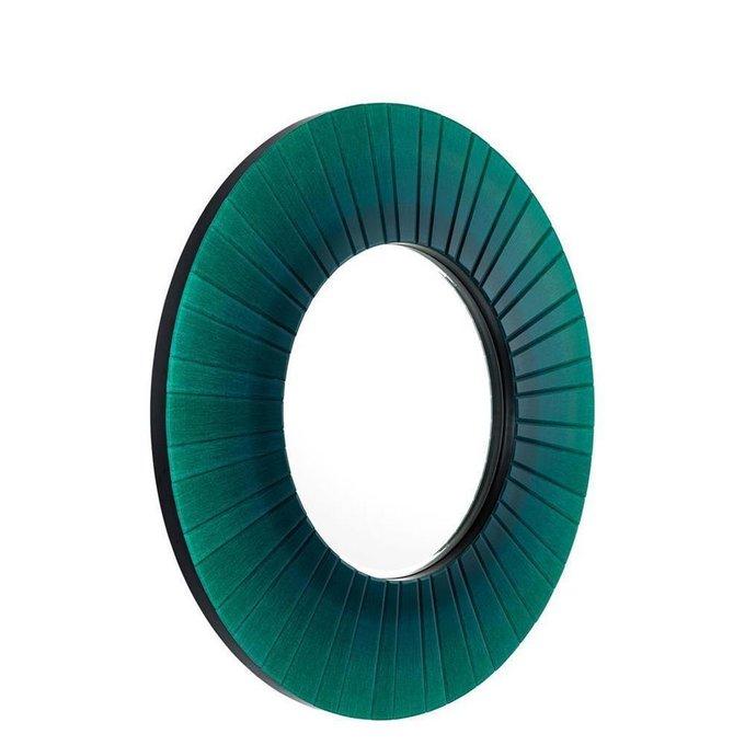 Зеркало Lecanto в зеленой раме