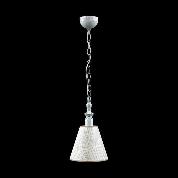 Подвесной светильник Provence с бежевым абажуром