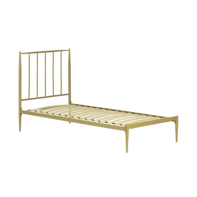 Кровать Natacha золотого цвета 90x190