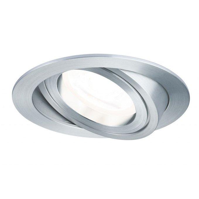 Встраиваемый светодиодный светильник Paulmann Drilled из металла